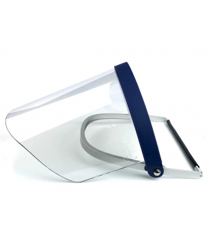 3M H24M Hard Hat Faceshield Holder with WP96 Clear Polycarbonate Faces...