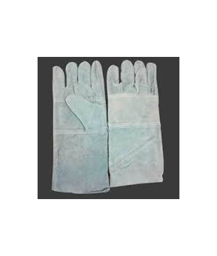 Leather Gloves with Palm Lining for Welding Gloves (LGJHE)