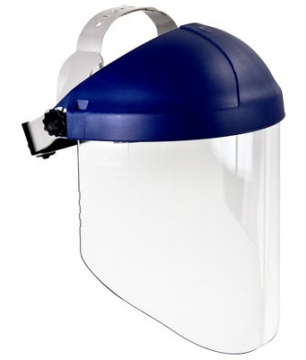 3M H8A Ratchet Headgear with W96 Clear Propionate Faceshield