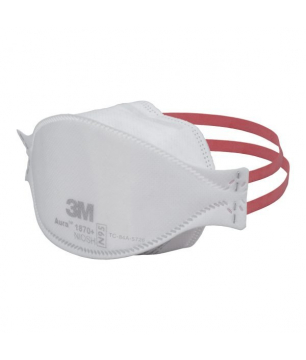 3M 1870+ Aura N95 FDA Approved Health Care Particulate Respirator and ...