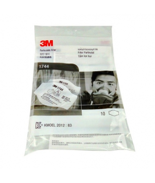3M 1744 P2 Particulate Filter (Pack of 10)