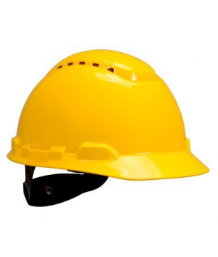 3M H-700 Vented Hard Hats with Ratchet Suspension