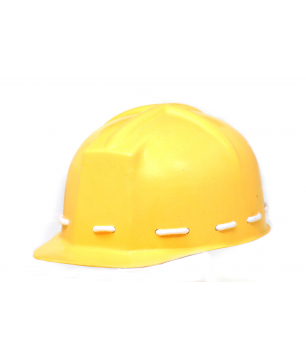 Concord Helmet Fiberglass Hard Hat with Inner Cotton Lining and Rexine...
