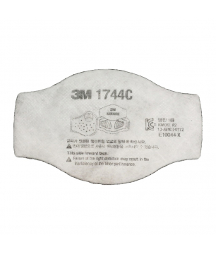3M 1744C P2 Particulate Filter with Nuisance Level Organic Vapor Relie...