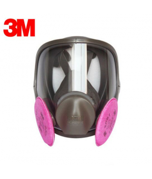 3M 6800 Full Face Respirator with 2091 P100 Particulate Filters