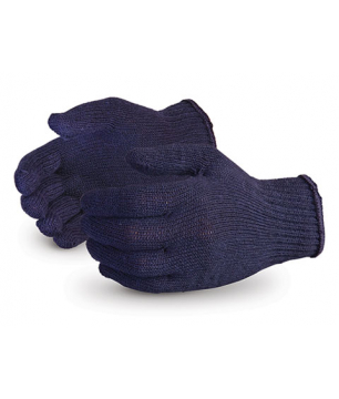 Blue Knitted Gloves 7 Guage (KN7B450)