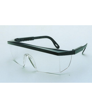 Punk Type Spectacles with Clear Wraparound Lens (SPPUCL)