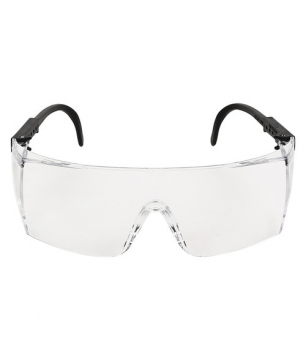 3M 1709IN+ Clear Lens Protective Eyewear with Adjustable Temples