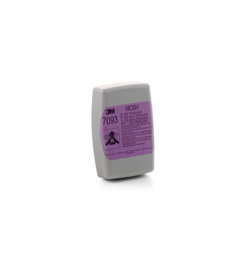 3M 7093 P100 Particulate Filters (Pack of 2)